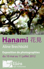 Hanami - affiche de l'exposition - 2012