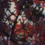 """""""Sous-bois"""" - série Sakura - 2015 - 80 x 60 cm"""