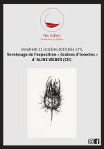 Vernissage Graines d'insectes Nyon